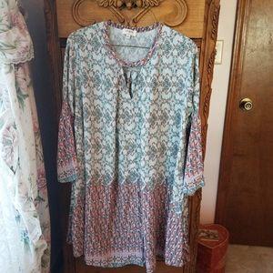 Umgee Tunic Dress large